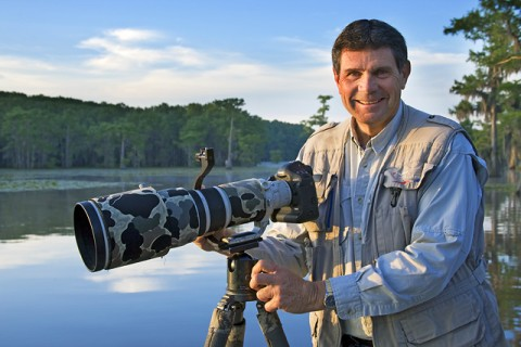 Larry at Caddo Lake, Texas